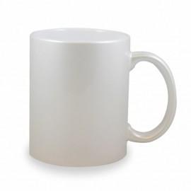 Taza cerámica personalizada blanca Perla PREMIUM
