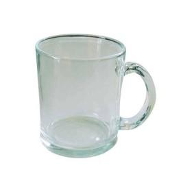 Taza vidrio personalizada trasnparente sublimación