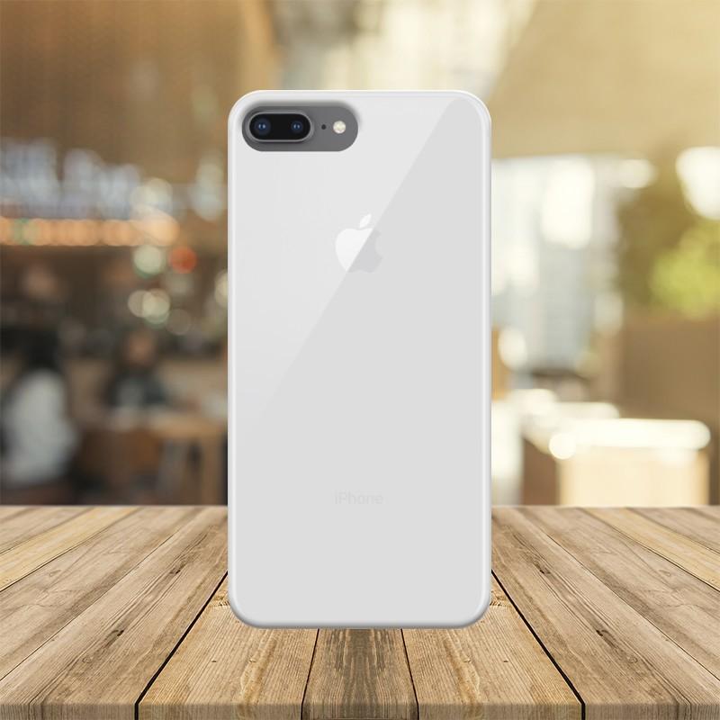 Funda para IPHONE 8 PLUS APPLE I-PHONE personalizada carcasa GEL flexible con tu foto