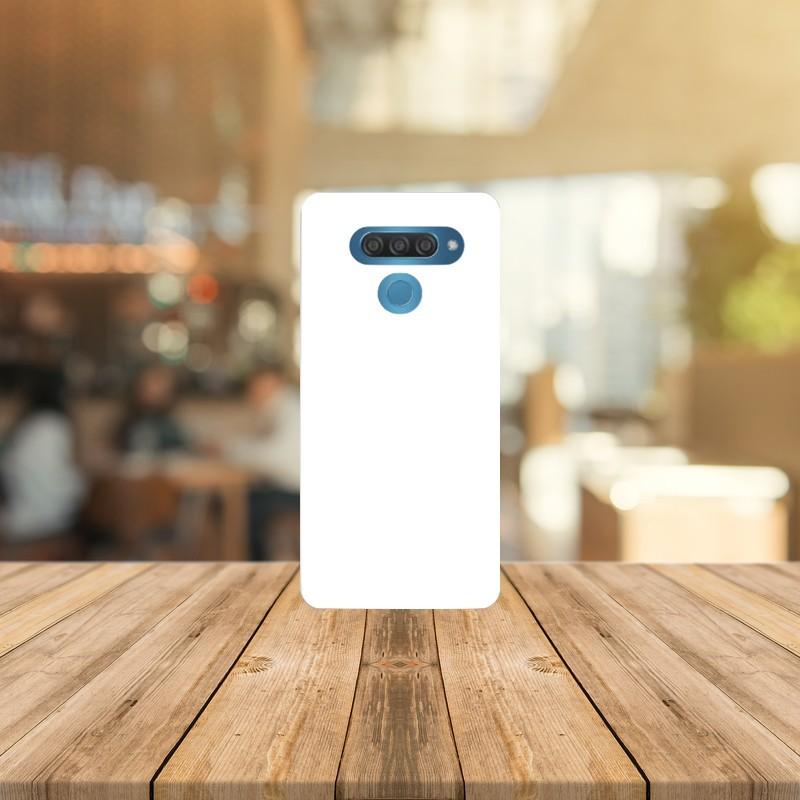 Funda para LG Q60 personalizada carcasa GEL flexible con tu foto