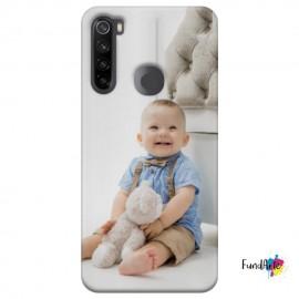 Funda para XIAOMI REDMI NOTE 8 T personalizada carcasa GEL flexible con tu foto