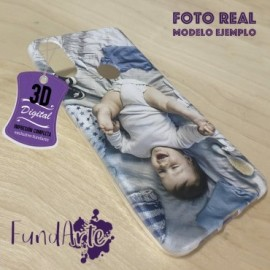 Funda para LG X POWER personalizada carcasa GEL flexible con tu foto