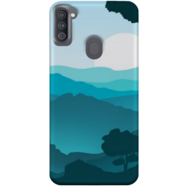 SAMSUNG a11 Funda personalizada movil para GEL TPU con foto 3D digital UVLED