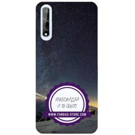 Funda para HUAWEI Y8p personalizada carcasa GEL flexible con tu foto