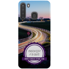 SAMSUNG a21 Funda personalizada movil para GEL TPU con foto 3D digital UVLED