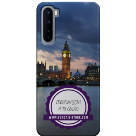 Funda para ONE PLUS + NORD personalizada carcasa GEL flexible con tu foto