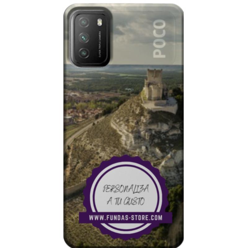 Funda para XIAOMI POCOPHONE M3  personalizada móvil GEL TPU con foto 3D digital UVLED