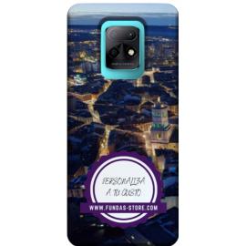 Funda para XIAOMI MI 10x 5g personalizada móvil GEL TPU con foto 3D digital UVLED