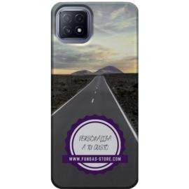 Funda para OPPO Reno 4 Z personalizada móvil GEL TPU con foto 3D digital UVLED