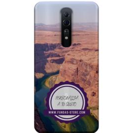 Funda para OPPO Reno Z personalizada móvil GEL TPU con foto 3D digital UVLED