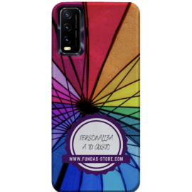 Funda para VIVO Y20S personalizada movil GEL TPU con foto 3D digital UVLED