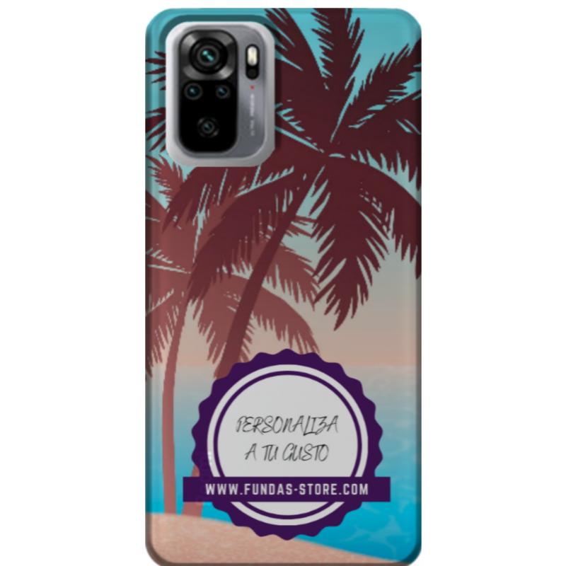 Funda para XIAOMI redmi note 10 pro personalizada móvil GEL TPU con foto 3D digital UVLED