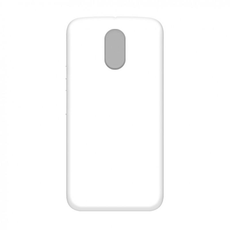 Funda para MOTOROLA MOTO E3 personalizada carcasa GEL flexible con tu foto