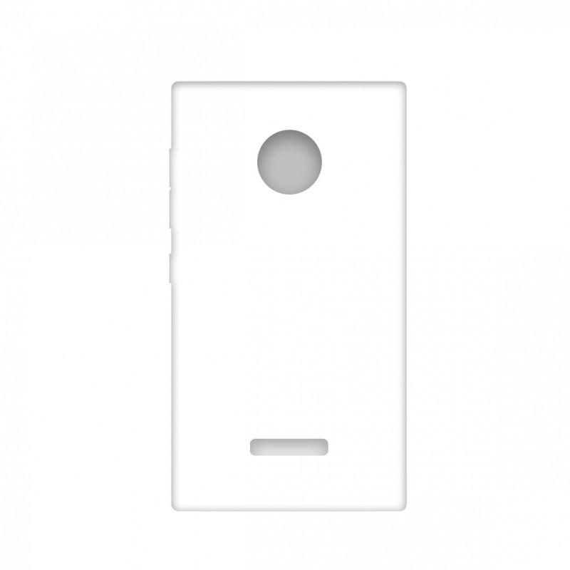 Funda para MICROSOFT LUMIA 435 personalizada carcasa GEL flexible con tu foto