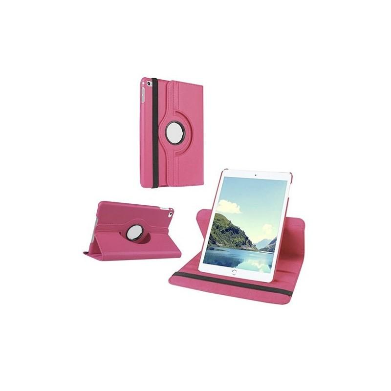 Funda PERSONALIZADA para Samsung Galaxy tab A 9,7 T550 giratoria 360 ROSA